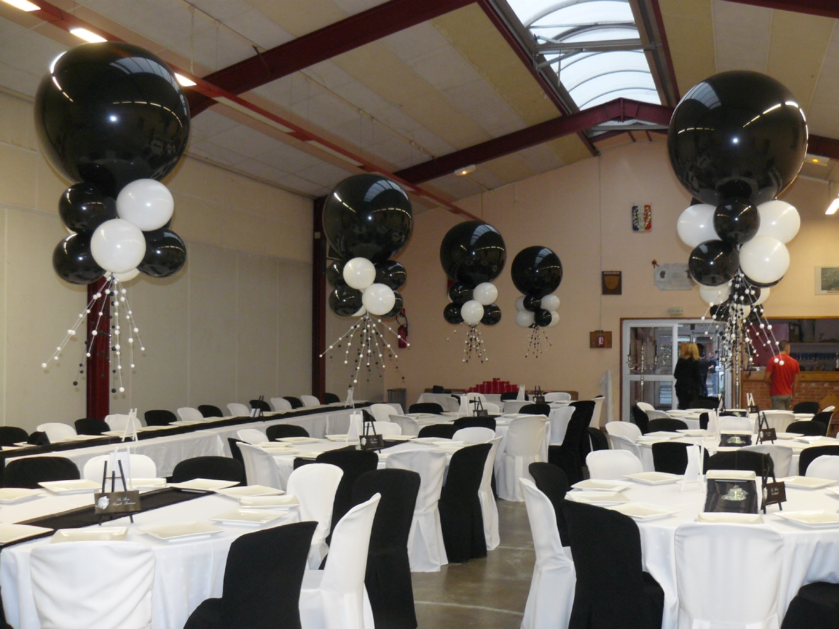 Mtg evenementiel douai for Decoration de salle noir et blanc
